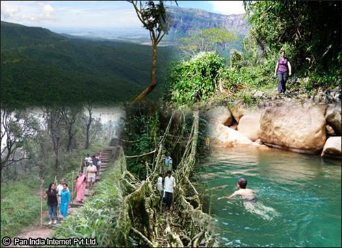Nature treks and walks in Cheerapunji