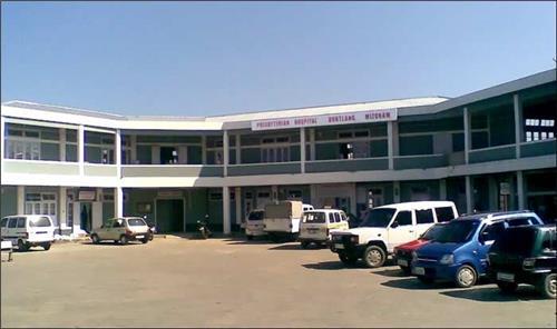 Hospitals in Aizawl