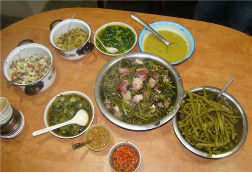 typical mizo food