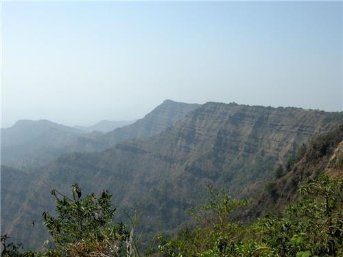 Mountains in Mizoram