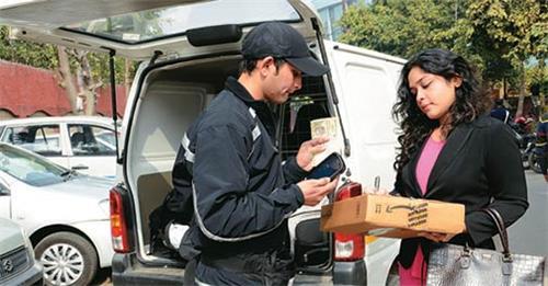 Courier Services in Bina Etawa