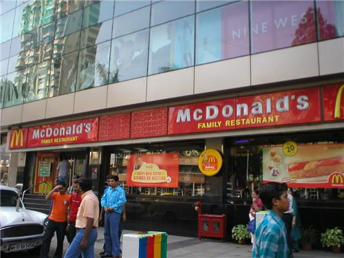 McDonalds in Mumbai