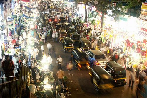 Markets in Mumbai