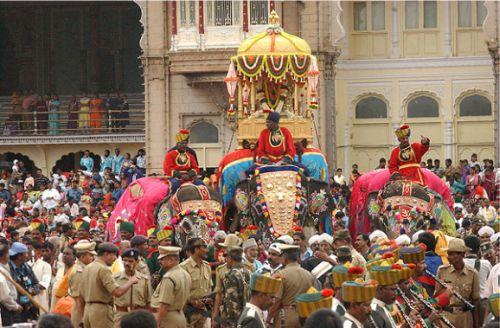 traditional festival Mysore