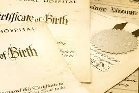 Birth and Death Certificates in Mysore