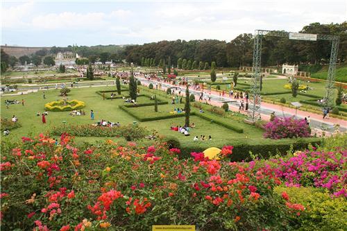 Attraction of Brindavan Gardens