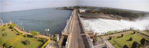 Dam near Brindavan Garden