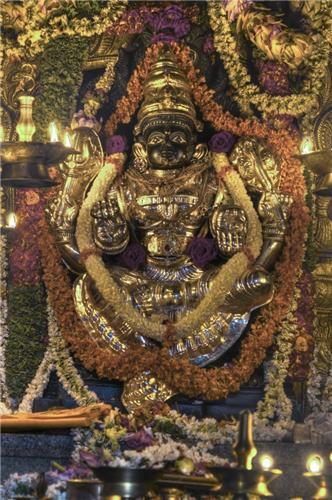 Nimishamba Temple in Mysore