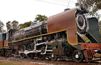 A Rail in Mysore rail museum
