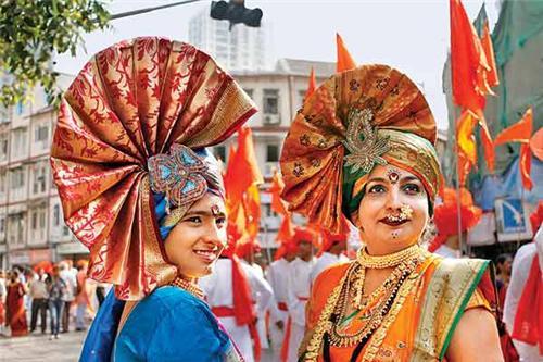 Gudhi Padwa festival in Nagpur