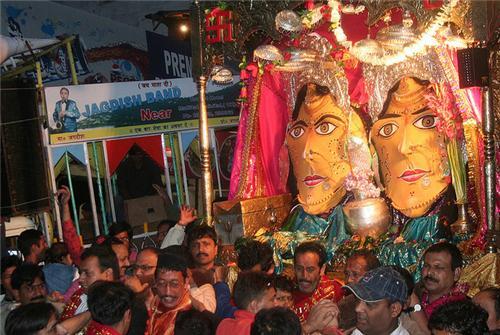 Nanda Devi Festival in Nainital