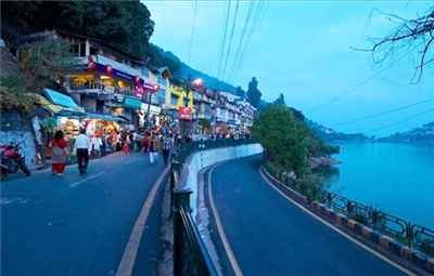 Barra Bazaar Shopping in Nainital