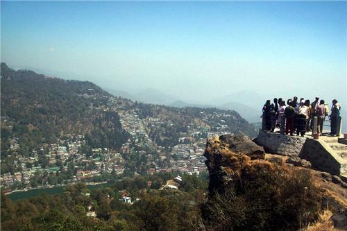 Lands End in Nainital