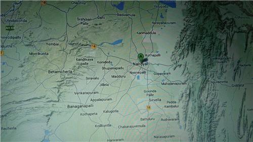 Geography of Nandyal