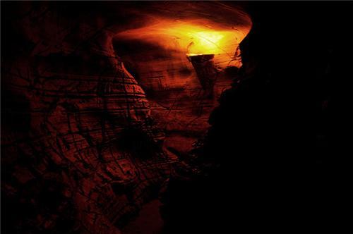 Belum Caves from Inside