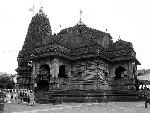 Ram, Lakshman and Sita at Nashik Temple