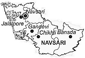 Geography of Navsari