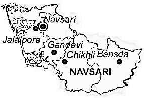 Geography of Navsari