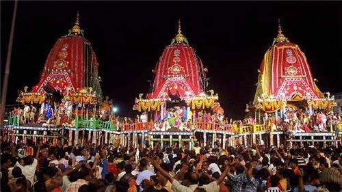 Rath Yatra in Odisha