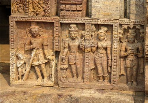 Buddhist Temple Sculptures in Odisha