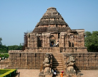 Religious places in Odisha