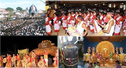 Festivals celebrated in Baripada