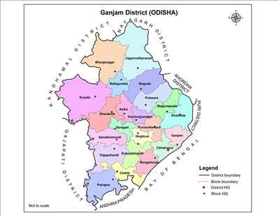 Geography of Ganjam