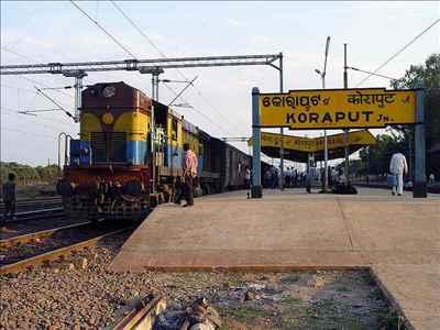 Railway Connectivity in Koraput