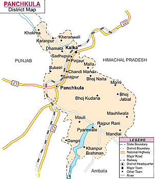 Administration in Panchkula