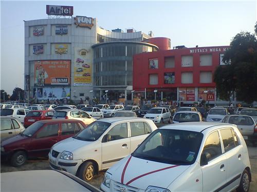 Facilities at Mittal's Mega Mall in Panipat