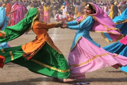 Dance and music in Panipat
