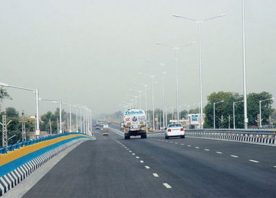 Structure of Elevated Expressway in Panipat