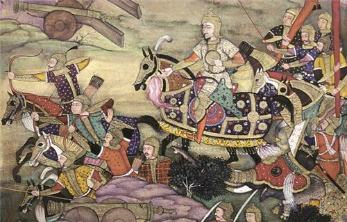 Tactics used in first battle of Panipat