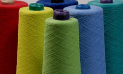 Yarns manufactured in Panipat