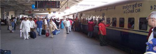 Trains passing from Panipat