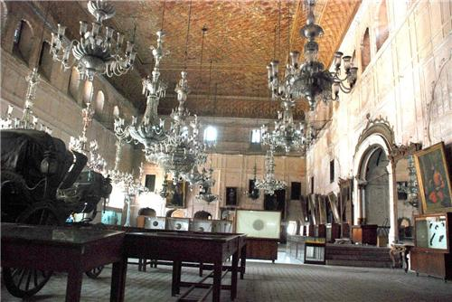 Armour and Chandelier Museum