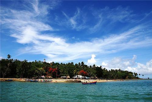 Beaches near Port Blair