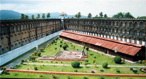 colonial prison in India