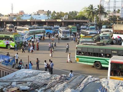 Pondy Bus Station