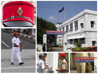 Police in Puducherry