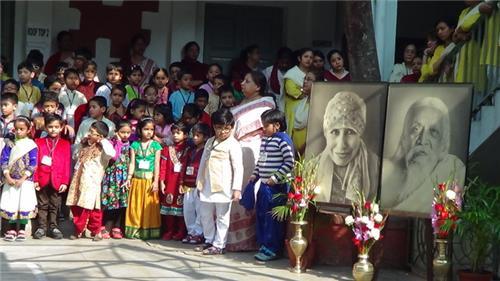 Pondicherry Ashram Mother's Birthday