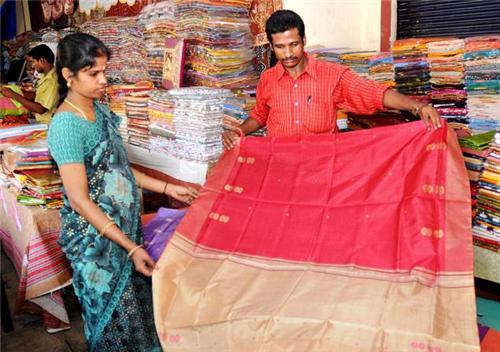 Textile Showrrom in Pondicherry