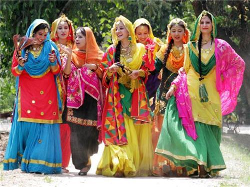 Costumes of Punjab