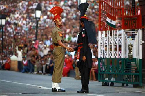 Wagah order in Amritsar