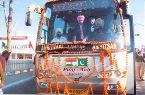 International Bus Service by PUNBUS