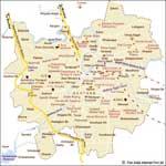 Pune Tourist Map
