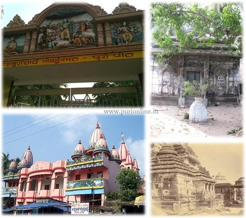 Mathas and Aashrams in the holy of City of Puri