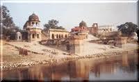 River Ganga in Raebareli