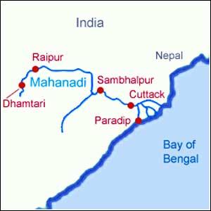 Rivers in Raipur