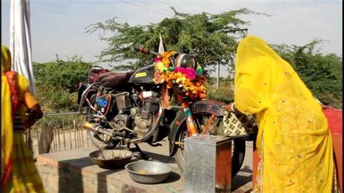 Bullet Baba Temple in Jodhpur